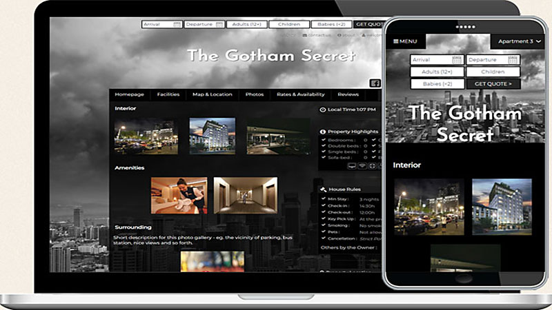 Fantastic Collection Of Hotel Web Templates
