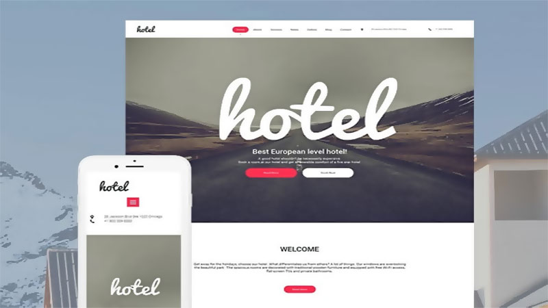How To Create Responsive Website For Hotels Without Programming?