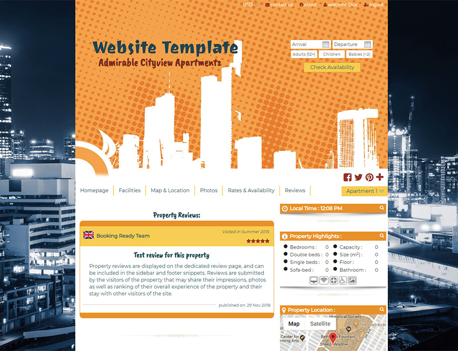 Urban Jungle - website builder template