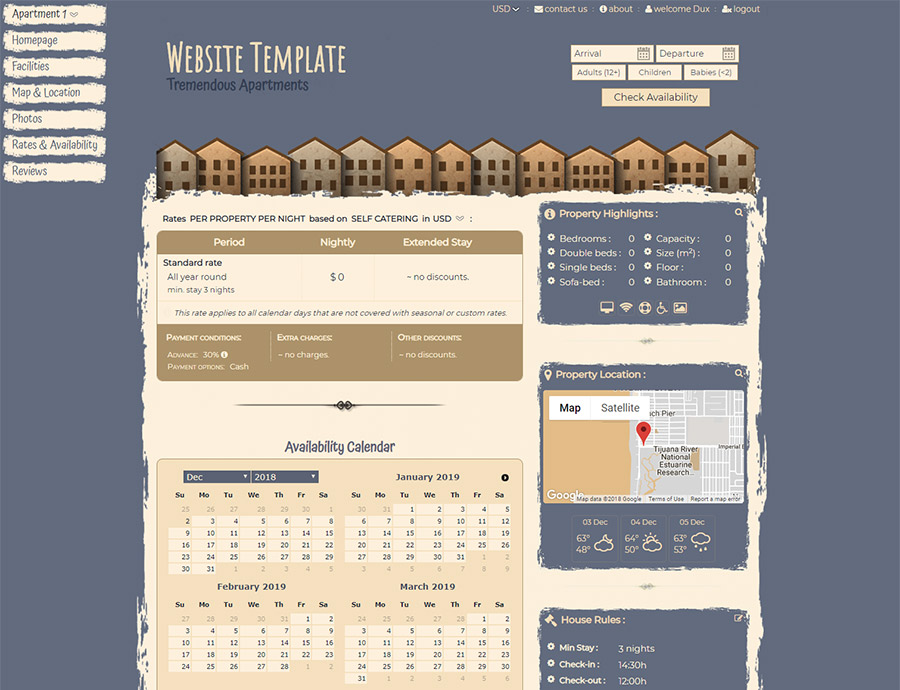 Free Style - website builder template