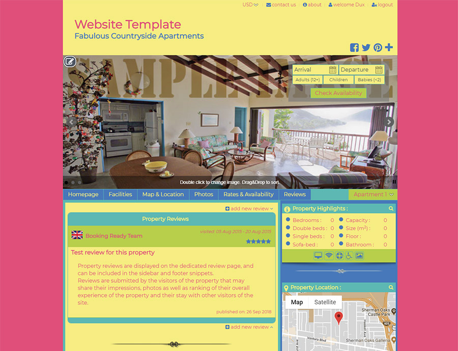 Colorful 2 - website builder template